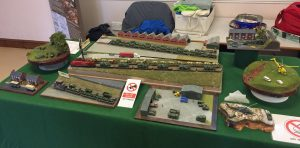 My own display of military railways all in 1/152nd scale