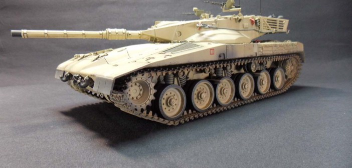 Paul Badman's Tamiya Merkava Mk 1
