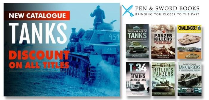 Pen & Sword's Discounts on Tank Titles