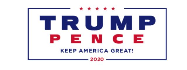 Trump Pence letterhead