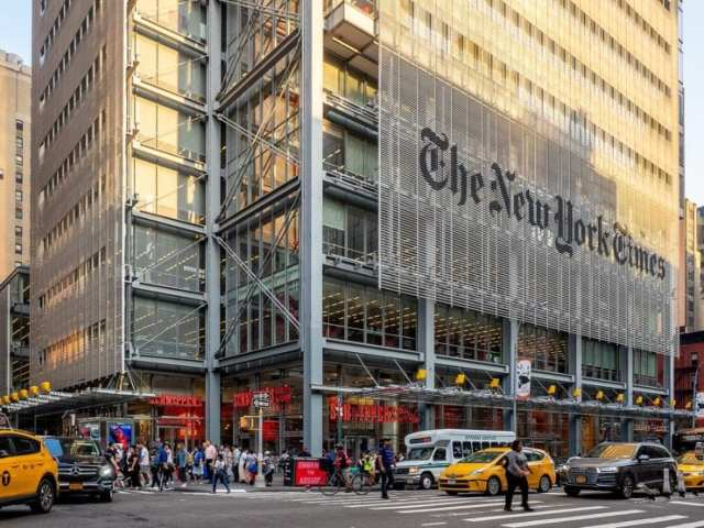 The New York Times Headquarters, Midtown Manhattan, NYC