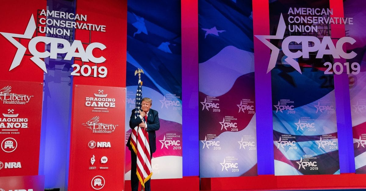 President Trump Will Make First Public Speaking Appearance At CPAC…Here's How To Get Your Tickets
