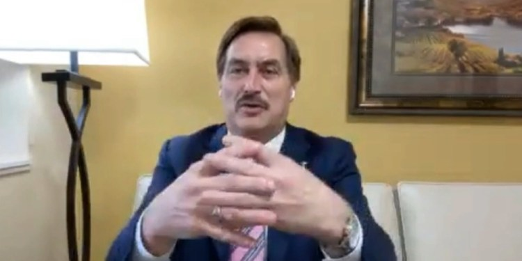 Mike Lindell reveals perfect timestamp correlation between late night vote 'drops' and Chinese cyberattacks
