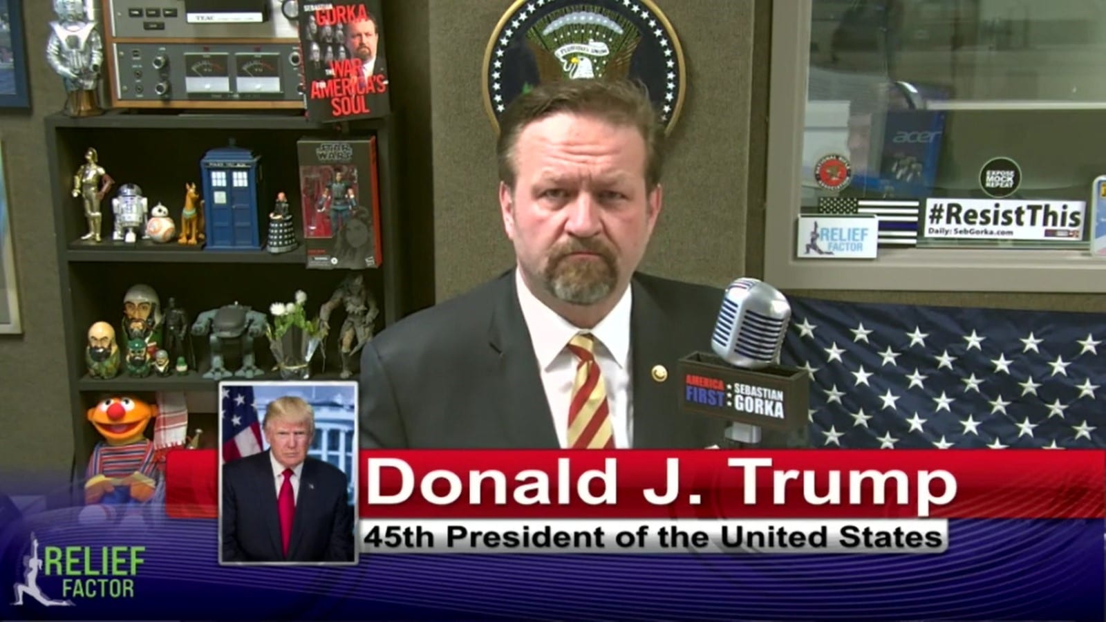 """We Have To Save This Country""- Donald Trump Interview With Sebastian Gorka"