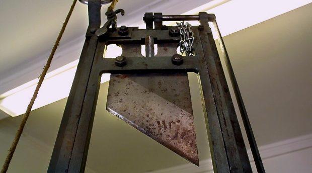 Dödsstraff som belöning istället för straff