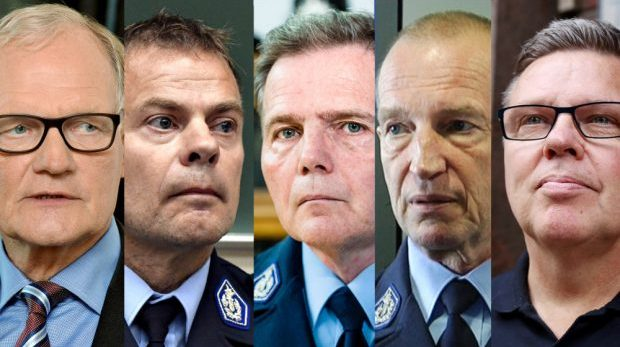 I Finland åtalas även höga polischefer