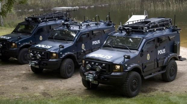 """Placerar svensk polis """"bevis""""?"""