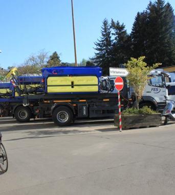 Räum- und Streufahrzeuge
