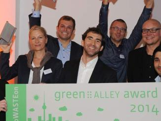 Green Alley-Award 2014: RePack, FoodLoop und  GreenLab sind die Gewinner