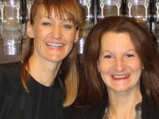 Zero Waste-Initiatorin Bea Johnson (l.) und Marie Delaperriére (Unverpackt Kiel)