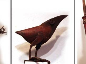 Chris Kircher: Skulpturen aus Stahlschrott