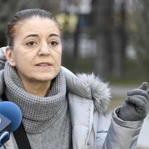 МАЈКАТА НА ПИНО СЕКОНДО: Денеска во судницата во Скопје, повторно беше убиен мојот син!