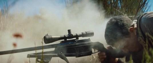 Arma de vanatoare BLASER R93 in filme(Savages)