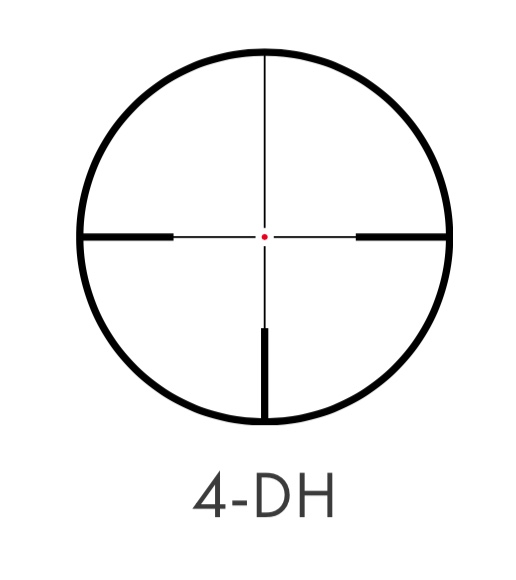 lunete Kahles reticul 4dh