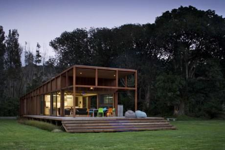 Лесной дом в Новой Зеландии 2