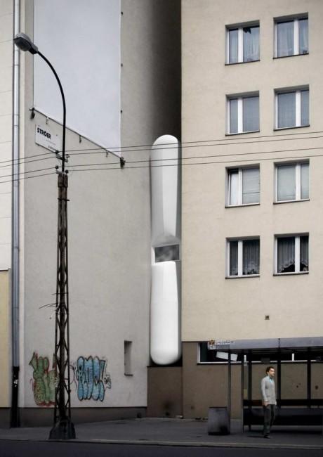 Самый узкий дом