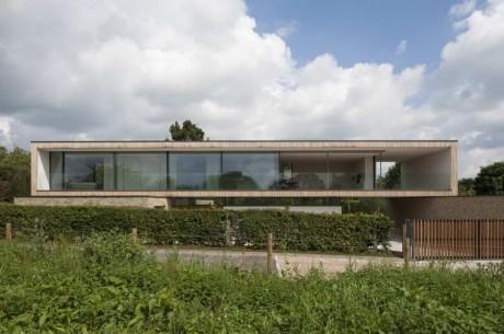 Минималистский дом в Англии