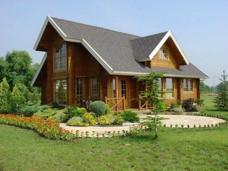 Деревянный дом в Греции