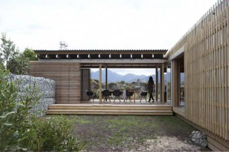 Пляжный дом в Новой Зеландии