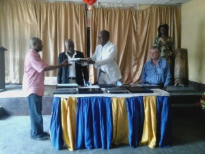 Kinshasa: cérémonie de remise.