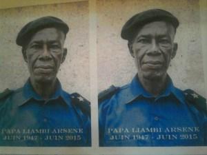 Arsene Liambi policier congolais