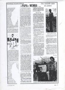 Article Papa Wemba