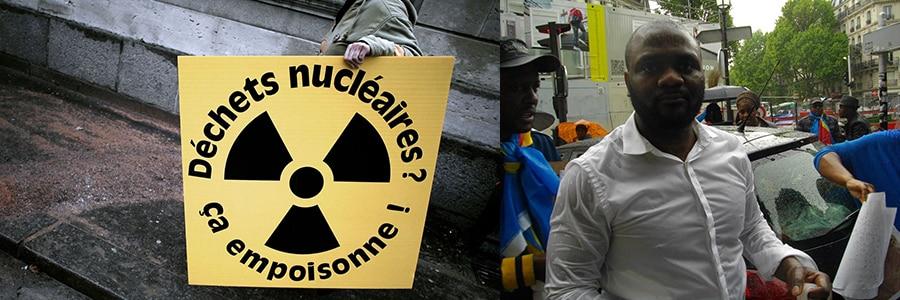 """Congo avec système Joseph """"Kabila"""": poubelle des déchets nucléaires du monde."""