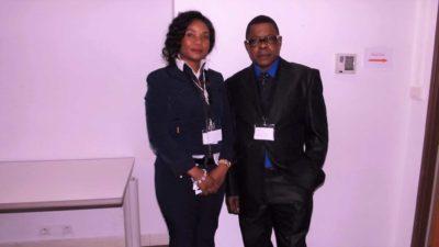 Nila avec l'honorable Vicky Babandisha