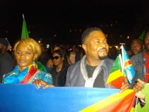 Blandine Diafutua et Martin Sali (Photo,Paris: Magazine Ngambo na Ngambo)
