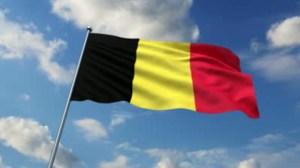 Drapeau du Royaume de Belgique.