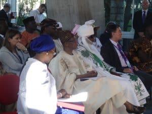 Emir de Kano à l'Unesco