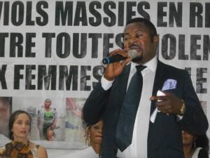 L'activiste Martin Sali: il faut juger les criminels qui violent des Africaines.