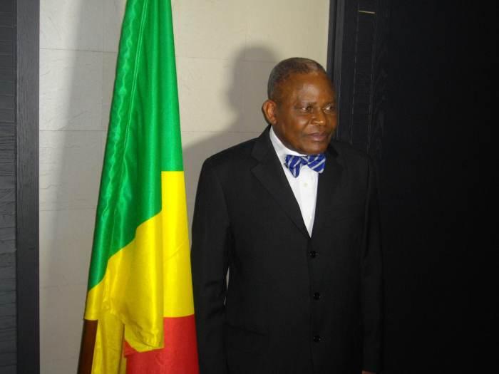 Mr. Benoît Koukebene(Paris,17 janvier 2016/Photo copyright Magazine Ngambo Na Ngambo)