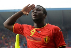 International belge Romelu Lukaku(Archives Lukaku).