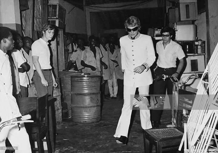 C'était à Kinshasa en 1968: Johnny Hallyday