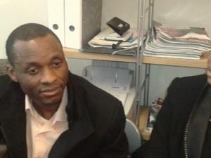 Le politique Emmanuel Ikabanga, une «force tranquille» qui soutien la libération de Bemba.