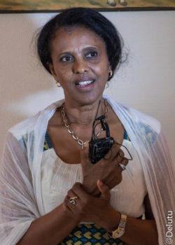 Mme Hanna Simon, ambassadrice de l'Erythrée à Paris