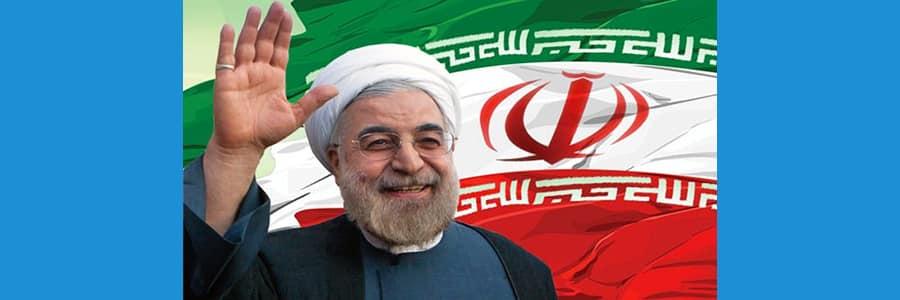 Visite officielle du président iranien Rohani, à Paris.
