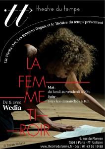 «La Femme Tiroir» dès le 4 mai 2015, au Théâtre du Temps, Paris.