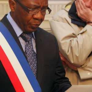 L'élu français Félix Bokassia de Château-Thierry.