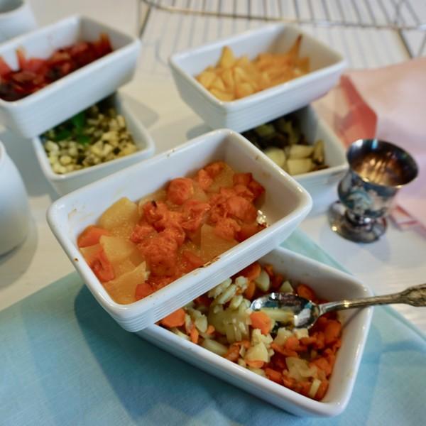 3 repas sains et varies pour bebe