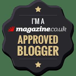 magazine.co.uk approved blogger badge