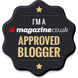 magazine.co.uk approved blogger badge