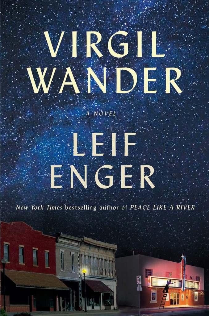 viril wander book cover design