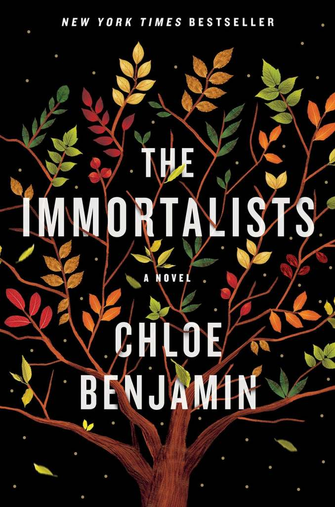 the immortalists book cover design
