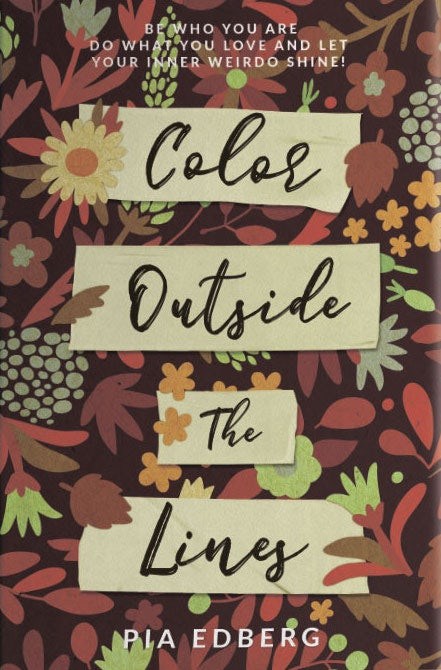 color outside the lines book cover design