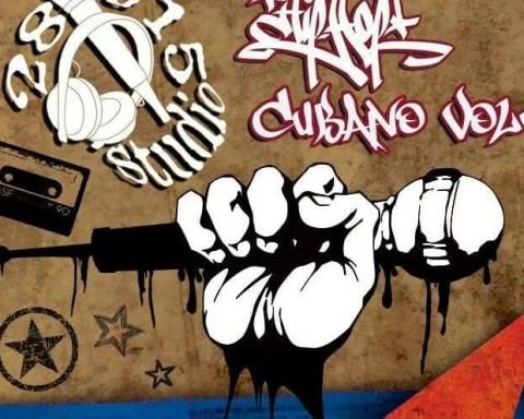 Cartel del evento de Hip-Hop cubano Puños Arriba