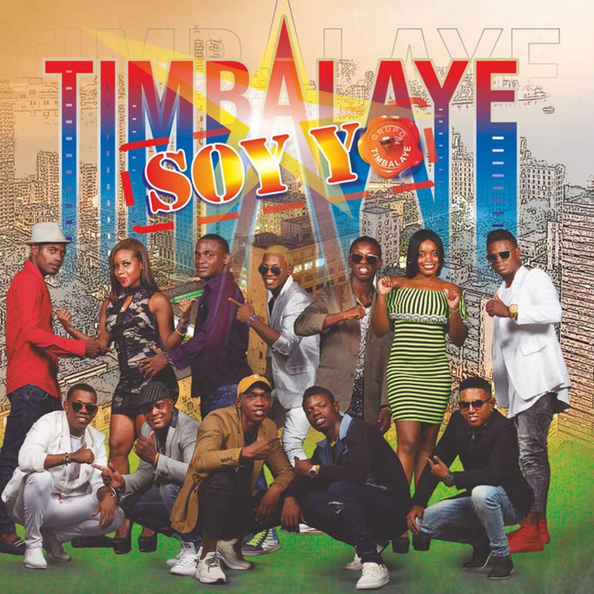 "Portada del álbum ""Timbalaye soy yo"", de Timbalaye."