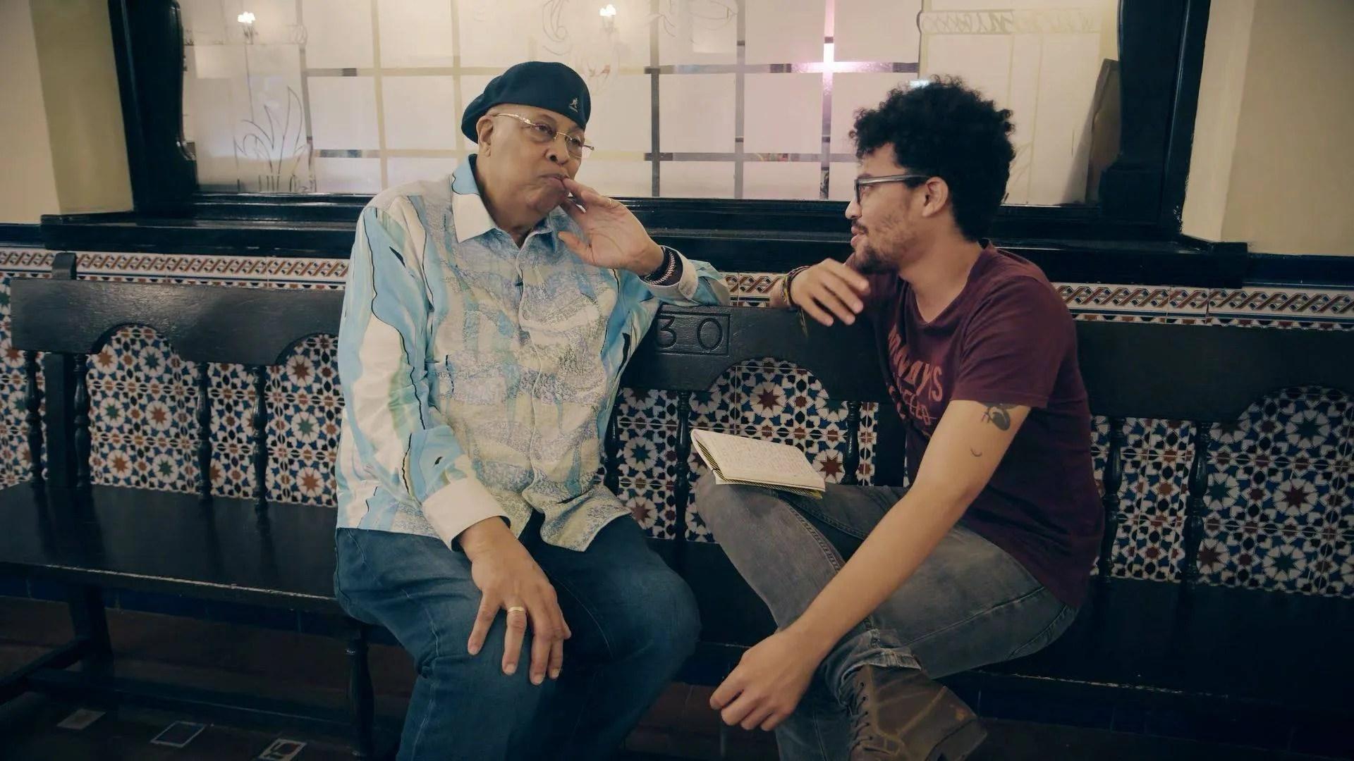 Chucho Valdés en entrevista para Magazine AM:PM. Foto: Dynamic Art.