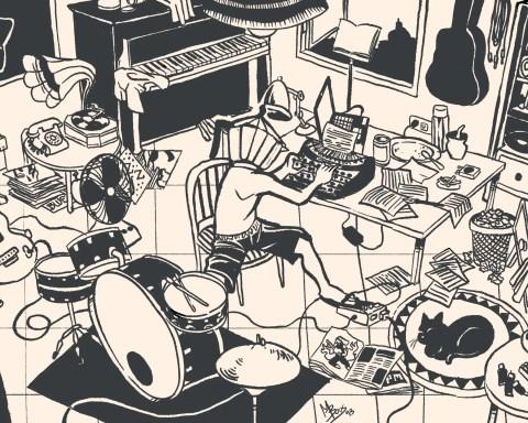 Consultorio Musical. Ilustración: Mayo Bous